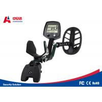 Buy cheap Black Deep Search Underground Metal Detector Long Range For Gold And Silver from wholesalers