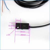 12V 2 Wires Reed Electric Magnetic Switch Sensor For Cylinder Manufactures