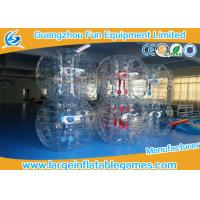 Gaint Inflatable Bubble Ball Bumper Soccer Football With 0.7mm TPU Material