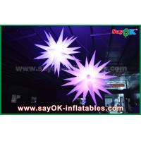 Buy cheap Giant 1.5m LED Star Balloon Inflatable Lighting Decorations For Pub / Bar from wholesalers