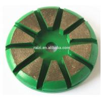 Diamond Grinding Plate With Smooth Scratch Pattern For Stone Concrete Manufactures