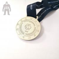 China 3d Antique Metal Gold Medals Sports  Athletic Running Awarded 2mm  Thickness on sale