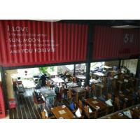 High Quality Shipping Container Restaurant , Modern Style Container Restaurant Manufactures