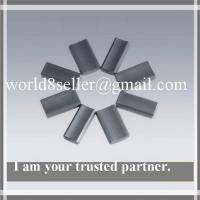 China Permanent brittle and hard Ferrite Magnets ring , arc , cylindrical for Speaker on sale