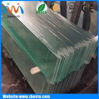 8mm,10mm,12mm Clear tempered-laminated Bathroom Shower safety Glass china supplier Manufactures