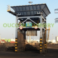 Fixed Discharge Bulk Material 55kw Eco Hopper Manufactures