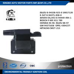 BOSCH F005X11789 HONDA ISUZU GM 94371838 OPEL 4304227 HITACHI Automobile Ignition Coil Manufactures