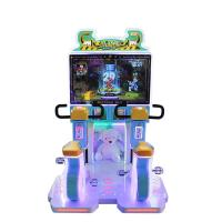 300W Kids Arcade Machine  / Single And Double Competitions Possible Redemption Ticket Rider Bike Game Machine Manufactures