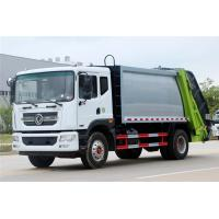 Compressed Garbage Truck Dongfeng 12CBM Carbon Steel Garbage Truck For Sale Manufactures