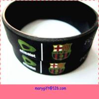 China custom logo size design cheap promotional items china personalized silicone wristbands on sale
