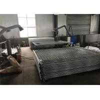 Portable Aluminum Fence Temp Fence Panels For Residential / Commercial Building Manufactures