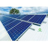 Great Flexibility Metal Roof Solar Mounting Systems With Sturdy Reliable Structure Manufactures