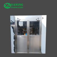 Double Door Cleanroom Air Shower Fully Automatic Control 1500*2000*2050mm Manufactures