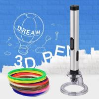New kids magic pen 3D Printer Pen with abs pla pcl 1.75mm filaments