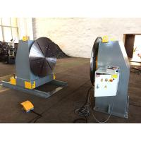 Head / Tail Stock Pipe Welding Positioners , Welding Turn Table Manufactures