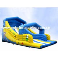 Inflatable Water Slide For Swimming Pool Games In Summer Manufactures
