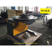 Buy cheap Fixed Rotary Welding Positioner , Small Weld Positioner 1000mm Diameter from wholesalers