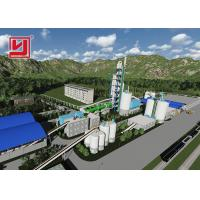 China Energy Saving Rotary Kiln For Cement Manufacture , Rotary Kiln Cement Plant on sale