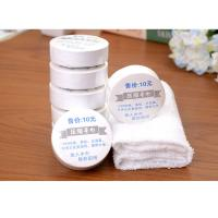 China Promotional gifts 100% cotton custom shape compress towel on sale