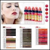 China Tattoo Semi Permanent Makeup Pigments Ink Lushcolor Cosmetic Cream Eyebrow on sale