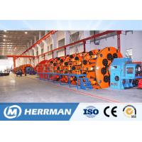 High Speed Cage Type Cable Stranding Machine For Overhead Conductor And Steel Wire Manufactures