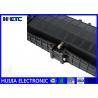 Buy cheap Black IP68 Fiber Optic Closure / Fiber Enclosure Box Corrosion Resistance from wholesalers