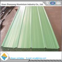 China Building Aluminum Corrugated Roofing Sheet / Roofing Plate with PVDF Coating on sale