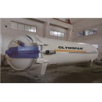 Chemical Glass Autoclave for glass lamination processing line,150℃,1.3Mpa,72KW Manufactures