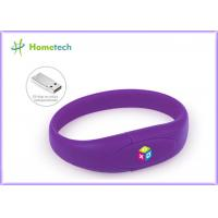 Wrist Band Pen Drive Promotion Wristband Usb Flash Drive Custom Logo Print Manufactures