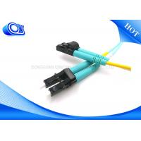 Buy cheap LC Duplex Multimode Fiber Optic Patch Cord Cable Factory FTTH  FTTX from wholesalers