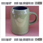 wholesale green beer mug ceramic beer mug custom colors LOGO 500ML beer mug Manufactures