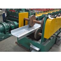 Galvanized Steel Z Purlin Forming MachineDouble Chain For Roof Structure Manufactures