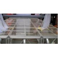 Glass Square Acrylic Stage Platform Anti-slip For Evens Manufactures