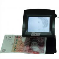 Supermarkets GBP Counterfeit Bill Detector / Cash Tester  With IR function Manufactures