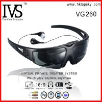 China 52inch virtual wireless video eyewear with AV input for iphone, ipod, game cube on sale