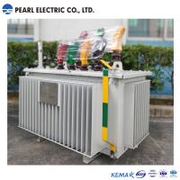 Quality Low Noise Oil Immersed Type Transformer / Three Phase Transformer Copper Winding for sale