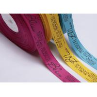 China Bulk Custom Printed Grosgrain Ribbon By The Yard Gift Pre Cut For Apparels on sale