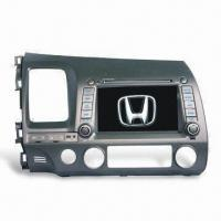 7-inch Car GPS Navigation System for Honda Civic, Supports RDS/BT/PIP/TV/iPod/SWC Manufactures