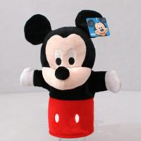 Lovely Mickey Mouse Minnie Mouse Plush Hand Puppets For Promotion Gifts Manufactures