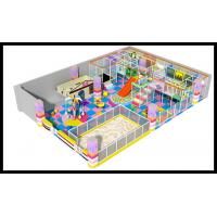 2017 Kids Favorite Plastic Colored Soft Indoor Playground Kids Play Area Zone Manufactures