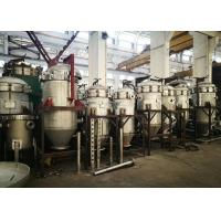 Small Vertical Pressure Leaf Filter With Automatic Valve Discharge Vibration System Manufactures