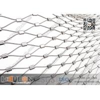 SS316L Ferrule Stainless Steel Wire Rope Mesh | China Decorative Wire Mesh Manufactures