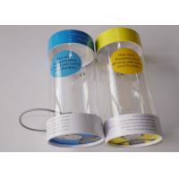 Small Clear Plastic Presentation Box , Personalised Clear Plastic Cups With Lids
