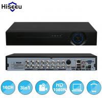 2HDD 16CH AHD 1080N 3 in 1 DVR video recorder for Analog AHD camera IP camera P2P cctv system DVR H.264 VGA HDMI output Manufactures