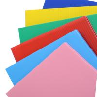 China Hot Sell PP Plastic 10mm Lowes Coroplast Corrugated Plastic Sheets on sale