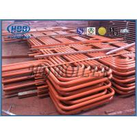 Red Carbon Steel Superheater And Reheater Energy Saving For Power Station Manufactures