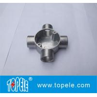 TOPELE BS4568 / BS31    4 Way Terminal Electrical Aluminum Junction Box, Channel Inspection Tee Box Manufactures