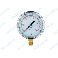 CE Standard general instruments pressure gauge with blow out disc Manufactures