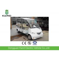 Long Wheelbase Spacious Electric Shuttle Bus 4Kw With 8 Seats Customized Color Manufactures