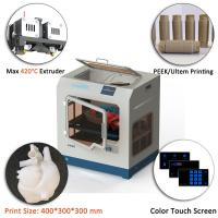 High Precision PEEK 3D Printer Automatic CreatBot 3d Printing Equipment Manufactures